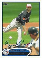 Brandon Morrow Toronto Blue Jays 2012 Topps Signed Card