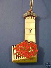 East Chop Lighthouse Ma Christmas Ornament Shelia'S