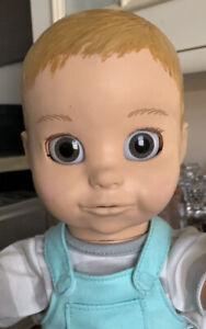 LUVABELLA LUVA BEAU INTERACTIVE RESPONSIVE BABY BOY DOLL