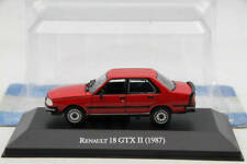 Altaya 1:43 Renault 18 GTX II 1987 Diecast Models Limited Edition Collection Toy