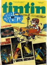 TINTIN   17 B 37 ANNEE POSTER VOITURE   1982