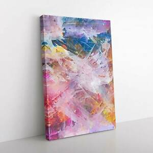 Tell Me a Story in Abstract Canvas Print Wall Art Picture Large Home Decor