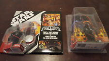 Star Wars Darth Vader Figure Lot of 2 Celebration III and Coin Album with Darth