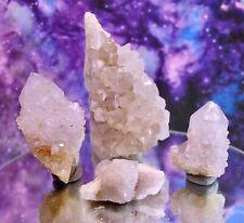 Lot Natural Spirit Cactus Fairy Quartz Crystals, Clusters, South Africa SP118
