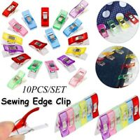 10pcs  Foot Case Multicolor Plastic Clips Hemming Sewing Tool Sewing DIY Craft n
