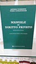 Manuale Di Diritto Privato Torrente Ed. 2019