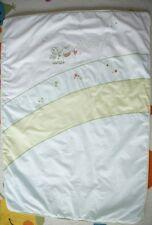 Baby Tagesdecke ALVI Krabbeldecke Decke wattiert Baumwolle TOP Zustand 94x132 cm