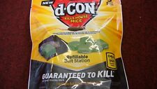 D-Con  Mouse Killer (Poison) box of 5 refills and 1 Bait station ( KILLS MICE )