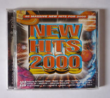 NEW HITS 2000 2 CDS - VARIOUS ARTISTS - 2000 CD ALBUM - GOOD CONDITION