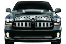 Dodge Ram Truck 1500 13-16 Cold Front Winter Grill Cover Stainless Steel AMERICA
