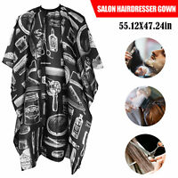 Pro Salon Hairdresser Gown Hair Cutting Cloth Barbers Wrap Protect Cape Apron