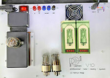 STRONG TWIN  6N8S /6SN7 /1578/ MELZ TUBES /TESTED BY ROETEST V10/ NOS/ DATE 1956
