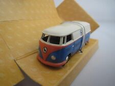 """BUB  VW  T1  Bus  """"Theater im Tiergarten""""  (blau/beige/lachs)  1:87  OVP !"""