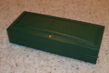 """Rolex Cellini Watch Jewelry Box 41.00.04 Lay Flat Style 10.5"""" Long Geneve Suisse"""