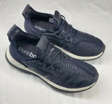 New listing Adidas Men's Pure Boost Running Shoes BA8613 US Size 10 Black