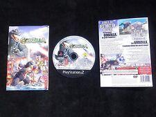 JEU Sony PLAYSTATION 2 PS2 : GODZILLA SAVE THE EARTH (Atari COMPLET envoi suivi)