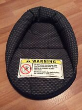 Safety 1st Infant Baby Car Seat Head Support Cushion Part Replacement Black