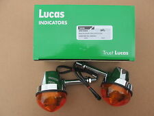 "54057553 TRIUMPH BSA NORTON GENUINE LUCAS 3"" STEM INDICATOR ASSEMBLIES (PR)"