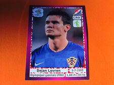 378 DEJAN LOVREN LYON HRVATSKA  FOOTBALL PANINI UEFA EURO 2012