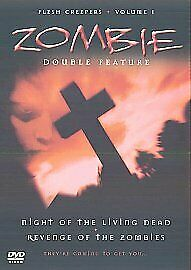 Night Of The Living Dead / Revenge Of The Zombies (DVD, 2002) Bx3