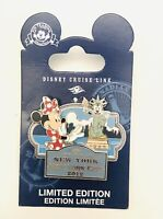 RARE 2012 Disney Cruise Line LTD ED 1000 Mickey Statue Of Liberty New York Pin