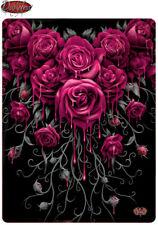 Spiral Direct Sangre Rosa Manta Polar Regalo/Gótico/Rosas /Regalo Navidad/ manta