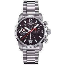 Reloj Cronógrafo CERTINA C0016391105700 Para Caballero 42MM plata de Acero Inoxidable Pulsera De Acero Y Estuche
