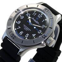 Russian men's wrist watches Vostok Amphibia mechanical automatic 120811 NEW