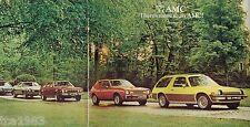 Big 1977 AMC GREMLIN / PACER / HORNET / MATADOR Brochure / Catalog