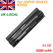 6 Cell Laptop Battery for Dell JWPHF WHXY3 R795X XPS 14 15 17 L401x L501x L502x