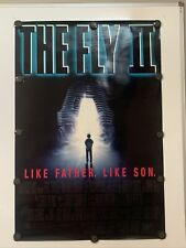 THE FLY II Original 27 X 40 Movie Poster - 1989 - ROLLED!