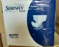 60 Pannoloni a Mutandina Serenity extra taglia XL  per incontinenza adulti