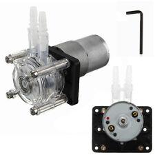 12V DC Motor Dosierpumpe Schlauchpumpe Peristaltik Pump Wasserpumpe Laborwasser