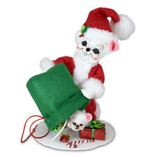 Annalee Dolls 2021 Christmas 6in Special Delivery Santa Mouse Plush New with Tag