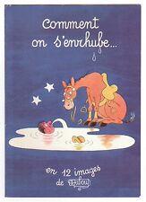 DUBOUT, ILLUSTRATEUR.1956. PUB LABORATOIRES LE BRUN. COUVERTURE. REF 2850
