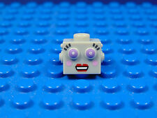 LEGO-MINIFIGURES SERIES [11] X 1 HEAD FOR THE LADY ROBOT FROM SERIES 11 PARTS