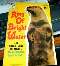 *MOVIE CLASSIC: WALT DISNEY'S RING OF BRIGHT WATER - PHOTO COVER 1969 nice spine
