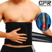 Back Support Belt Lumbar Lower Waist Belt Brace Sciatica Herniated Pain Relief