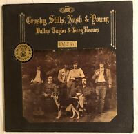 Crosby, Stills, Nash and Young - Deja vu - Gatefold cover with picture