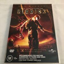 The Chronicles Of Riddick - Vin Diesel Dvd Region 4 Pal