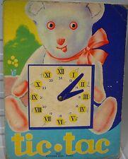 TIC.TAC apprendre l' heure, 1951…
