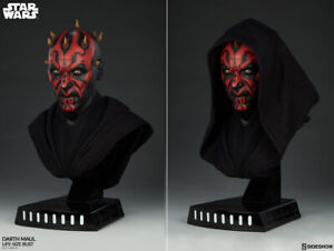 """Sideshow 27"""" Tall Star Wars Darth Maul Life-Size Bust Action Figure #400313"""
