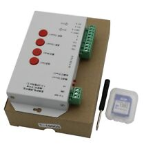 T1000S SD Card LED Controller Pixel ,DC5~24V,for WS2811 WS2812 2048 strip light