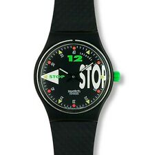 "SWATCH STOP WATCH ""NIGHTSHIFT"" (SSB101) NEU, OVP"