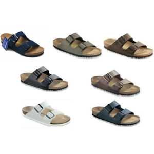 Birkenstock Arizona leather cork sandals-regular multicolor sandals Birko-Flor