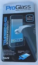 Tzumi ProGlass Tempered Glass Screen Protection For IPhone SE and IPhone 5s NWT
