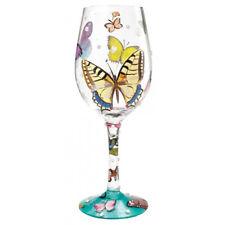 Lolita Butterfly Wishes 444ml Wine Glass