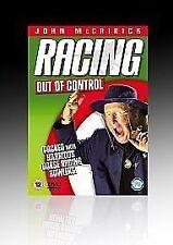 ? John McCririck - Racing Out Of Control (DVD, 2005)freepost in very good condit