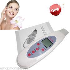 Mini Ultrasonic LCD Digital Facial Skin Care Scrubber Peeling Cleaners Machine