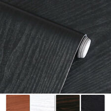 "197"" Self-Adhesive Wood Grain Wallpaper Oil-proof Kitchen Cabinet Desktop Decor"